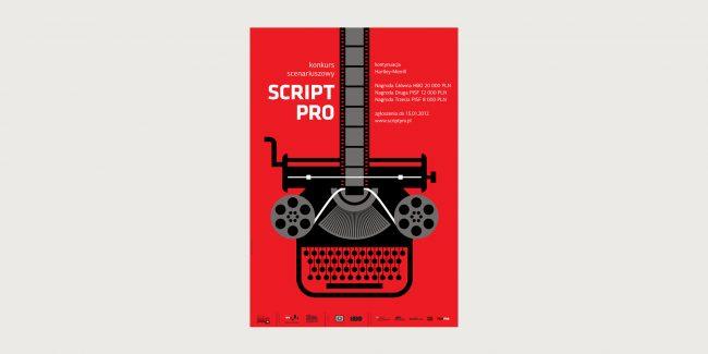 Plakat ScriptPro